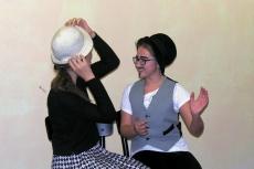 Ukázky hereckých cvičení: GROTESKY